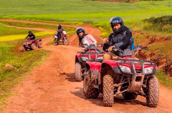 cuatrimotos ATV en Maras – Moray Medio Dia