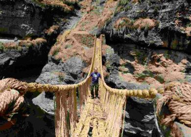 Tour to the Inca Bridge of Qeswachaka Full Day
